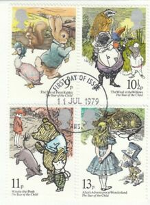 (90552) GB Used Year of the Child 1979 ON PIECE