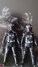 "SOLO: A STAR WARS STORY 3.75"" TIE FIGHTER PILOT FORCE LINK 2.0 TARGET LOT OF 2"