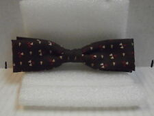 Vintage Men's Clip On Bow Ties 40's 50's Marked Colonel