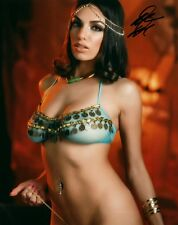 Darcie Dolce In A Bra Hott Adult Model Signed 8x10 Photo COA Proof 26A