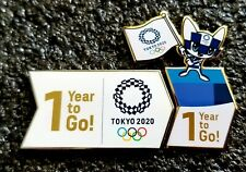 2020 TOKYO  OLYMPIC  1 YEAR TO GO PIN BADGE SET