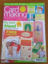 Card making & papercraft Magazine - Issue 9 January - Free Gift Included