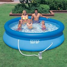New listing Intex 10 X 30 Easy Set Above Ground Swimming Pool (Includes Filter Pump)