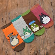 1 Paire Totoro Imprimé Chaussette Courte Bonneterie Anime Fans Cadeau Sport Mode