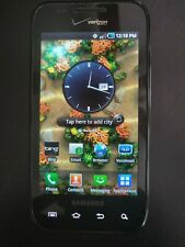Samsung Galaxy S Fascinate Black Verizon 2GB SCH-I500 SmartPhone GREAT condition
