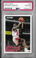 1993 Fleer Michael Jordan Chicago Bulls #28 PSA 10 GEM MINT HALL OF FAME  🐐