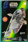 Star Wars The Power of the Force Boba Fett's Slave 1 - Factory Sealed