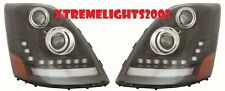VOLVO VNL VNM VNX 300 430 630 670 2004-2015 LED DRL HEADLIGHTS HEAD LAMPS LIGHTS