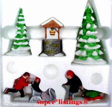 Dept. 56 New England Winter Set of 5 Nib 65323