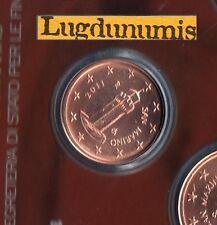 Saint Marin 2011 - 1 Centimes D'Euro - 48 000 exemplaires Provenant du BU RARE S