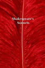 Shakespeare's Sonnets, and A Lover's Complaint