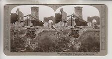 WWI STEREOVIEW - BATTERED SUGAR REFINERY AT LE TRANSLOY - REALISTIC TRAVELS