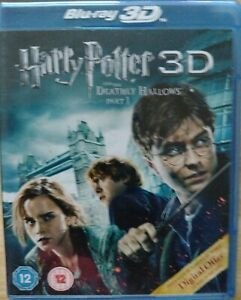 Harry Potter & The Deathly Hallows Part 1  3D Blu-Ray. VGC