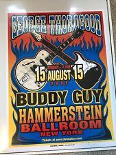 Mark Arminski - George Thorogood / Buddy Guy Concert 1st Print Poster