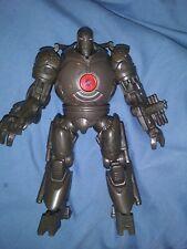 2008 Marvel Iron Man Movie Super Smash IRON MONGER Red Arc Reactor LOOSE Figure