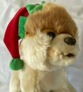 "Gund Boo Worlds Cutest Dog Limited Edition Christmas Hat 9"""