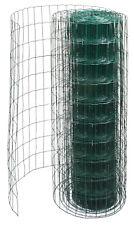 25m Gartenzaun 1m Maschendraht Zaun Gitterzaun Schweißgitter PVC Metall Wildzaun