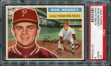 1956 Topps 7 Ron Negray [White Back] Psa 9   01107048