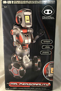 NEW - Rare Wowwee Mr. Personality Robot w/ Box and Remote