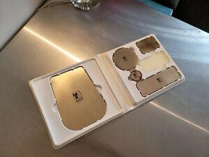 Lot of 5 Nikken Kenko Gold Promo Pads Magnetic in Case