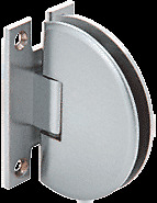CRL Brushed Satin Chrome Classique 037 Series Wall Mount Standard Back Plate...