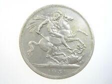 GREAT BRITAIN 1 CROWN 1951 UK 5 Shillings St George & Dragon BU 10# Coin