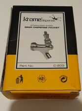 Krome Dispense c-203 Stainless Steel Beer Faucet