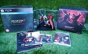 Ninja Gaiden 3 Collectors Edition  Playstation 3 PS3 Big Box Book CD Game Figure