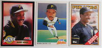1988-91 Baseball Cards Barry Bonds Score Topps Lot of 3