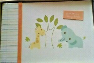 New C. R. Gibson Small Photo Album GRANDMA'S BRAG BOOK Giraffe, Elephant