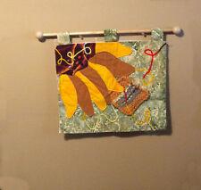 sunflower mixed media walll hanging