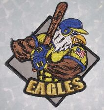 "South Bay Eagles Baseball Patch - California - 4"" x 4 1/2"""