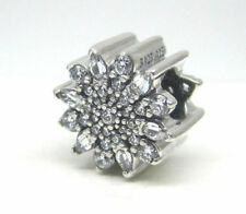 #203 Authentic Pandora Ice Crystal Clear CZ Bead 791764CZ Snowflake Christmas!!