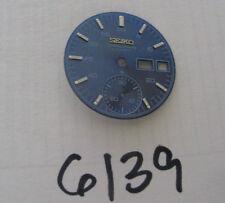 = Blue Dial/Face (C) New made for Seiko Chronograph 6139