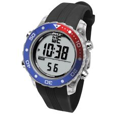 NEW Pyle PSNKW30BK Snorkeling Master Watch w/ Dive Duration / Depth Water Temp.