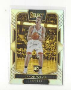 2016-17 Select Prizms Silver #265 Jakob Poeltl RC Rookie Raptors Spurs