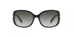 PRADA CONCEPTUAL PR 08OS 1AB0A7  57[]17 130,Black/Grey RRP £225
