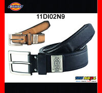 Dickies Mens Leather Work Belt, Industrial Strength Brown Black 11DI02N9 32 - 44