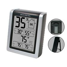 New listing AcuRite 00613 Digital Hygrometer & Indoor Thermometer Pre-Calibrated Humidity.