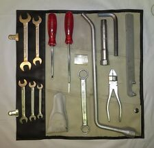 1964-65 Porsche 911 SWB Tool Kit Toolkit - Very Early and Very Hard to Find