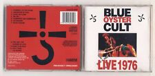 Cd BLUE OYSTER CULT Live 1976 - OTTIMO Castle 1991