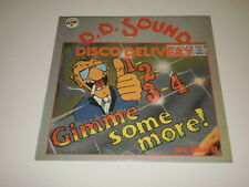 """D.D. SOUND - 1, 2, 3, 4, Gimme Some More/We Like It - 12"""" BABY RECORDS - DISCO -"""