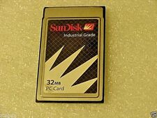 NEW Industrial Quality SanDisk 32MB PCMCIA ATA Flash Memory Card/GPS/telephone