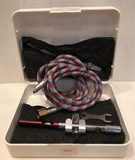 BADGER VEGA NAILAIRE Gravity Feed Fingernail Airbrush T85K w/ Hose Wrench & Case