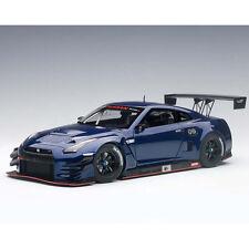 Autoart Nissan GT-R Nismo GT3 1:18 Model Car 81584 Aurora Flare Blue Pearl