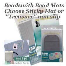 Beadsmith Bead Mat, choose Sticky or Treasure Jewellery Beading Work Surface