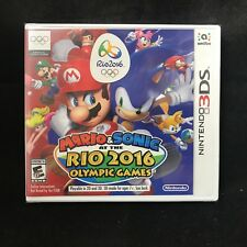 Mario & Sonic at the Rio 2016 Olympic Games (Nintendo 3DS, 2016) BRAND NEW