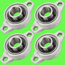 ► 4 Stk KFL000 Flanschlager Gehäuselager 10mm Welle CNC 3D Drucker KFL Halterung
