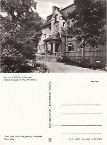 fehlerhaft AK Neuglobsow Kr. Gransee FDGB-Erholungsheim Haus Hirschberg