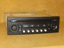 PEUGEOT 307  2005-2009 RD4 CD PLAYER & CODE.  AUX INPUT ACTIVE. JUST PLUG & PLAY